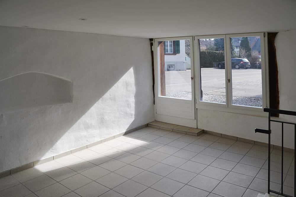 Atelier-Eingang
