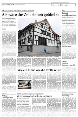 Zürcher Unterländer Nov. 2010